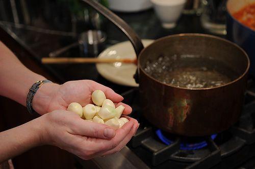 Bagna Cauda (Piedmontese Warm Garlic-Anchovy Dip)