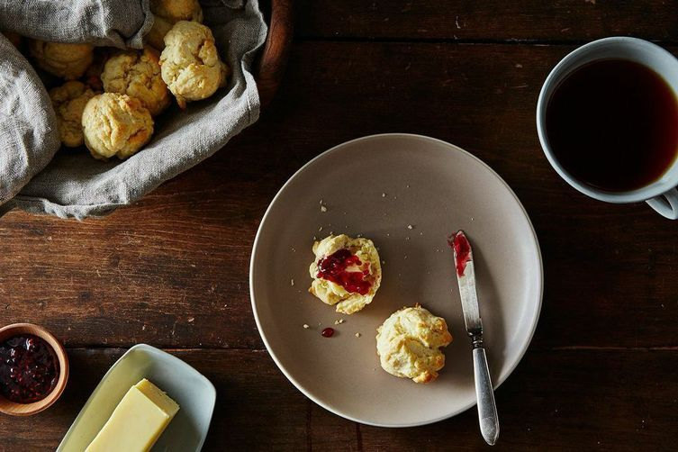 Three-Ingredient Biscuits + Fried Egg = Dinner