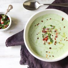 Cucumber-Watercress Soup