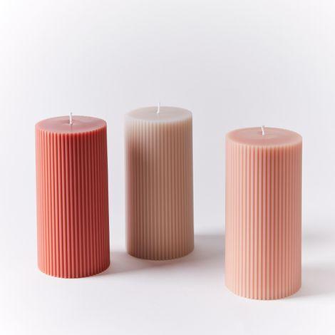 Fancy Pillar Candles