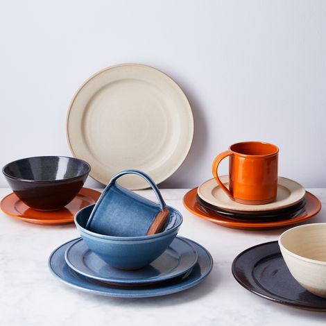 Handthrown Rustic Ceramic Dinnerware