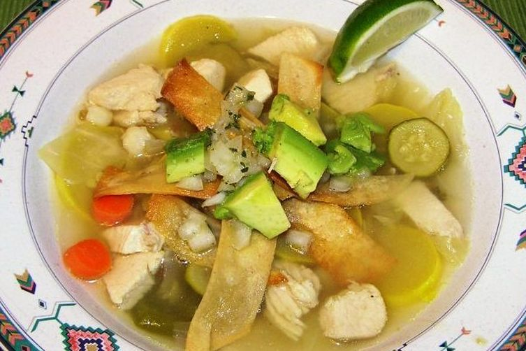 Not Your Ordinary Chicken Tortilla Soup