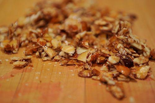 Cherry Brown Sugar Fool with Honey Almonds