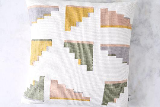 Handwoven Cotton Barragan Pillow