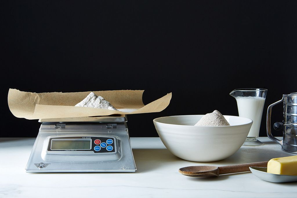 why to to use a scale in baking with whole grain flours