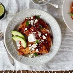 Entomatadas (Cheese-Filled, Tomato Sauce-Smothered Tortillas)