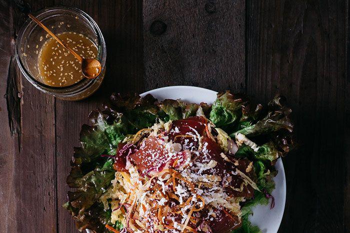 Ahi Sashimi Salad