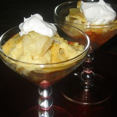 Greek Style Honey-Yogurt & Pear Pudding