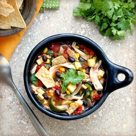 Harvest Chicken and Vegetable Tortilla Soup