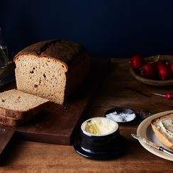 Vanilla Porter Rye Bread