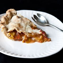 Anne Dimock's Straight-Up Rhubarb Pie