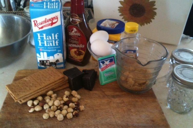 Snicker's Jar Budino