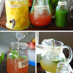 Cucumber Mint Coolers