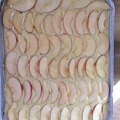 Mrs. Shunke's Apple Kuchen