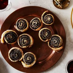 Prune and Chocolate Rugelach