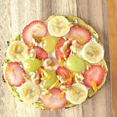 Zucchini Bread Breakfast Pizza