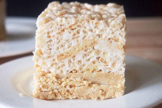 Golden Oreo Rice Krispies Treats