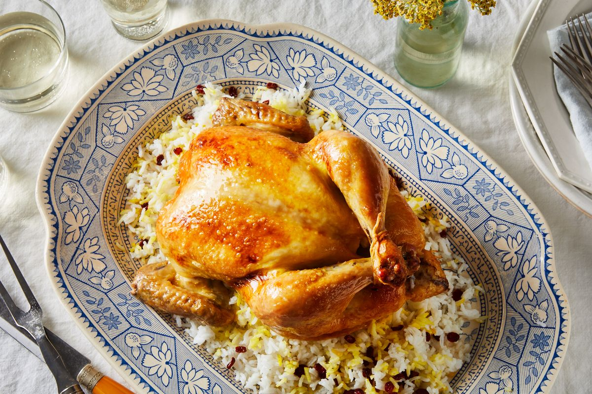 A Persian Roast Chicken & Rice: From Mom, With Love