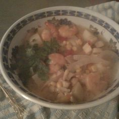 Quick Peruvian Seafood Soup