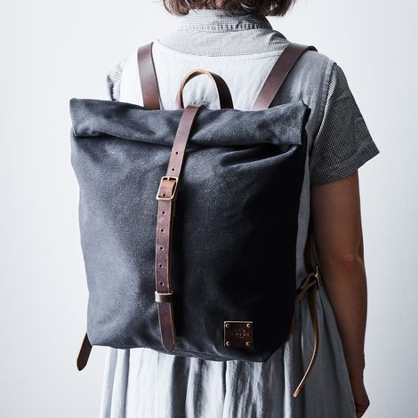 Waxed Canvas Travel Backpack