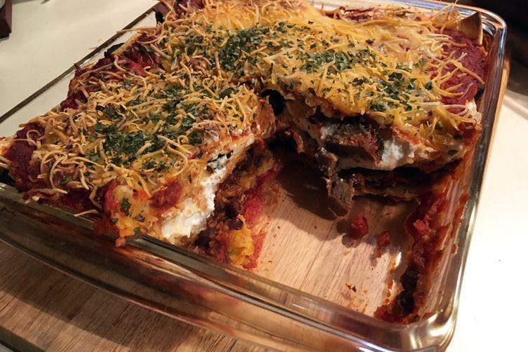 Mex-Italian Lasagna