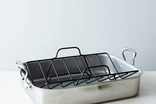 Mauviel Stainless Steel Roasting Pan with Rack
