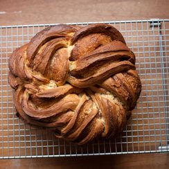 Cinnamon-Cardamom Kringel Bread