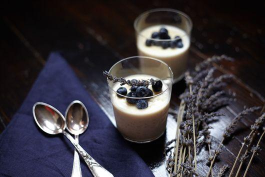 Lavender-Honey Rice Pudding
