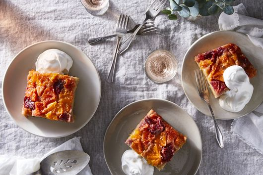 Orange Upside-Down Sheet Cake