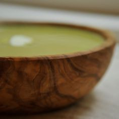 Cream of Asparagus Soup with Yogurt and Tarragon