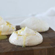 Mini Lemon Pavlovas