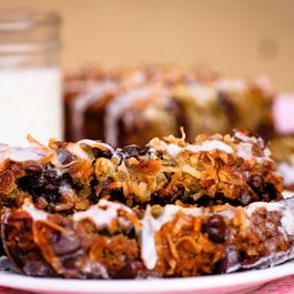Peggy's Gluten Free Coconut Chocolate Chip Banana Bread with Sweet Drizzle