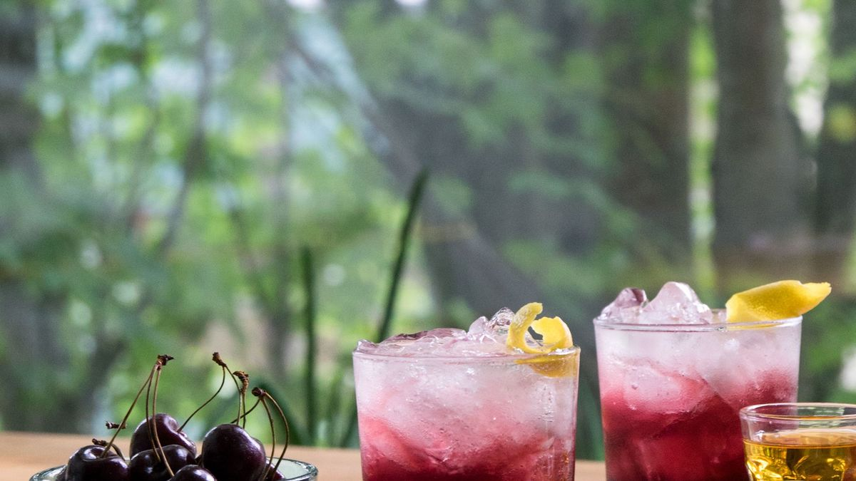 Sparkling Cherry Bourbon Recipe On Food52