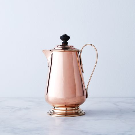 Vintage Copper Coffee Pot, Late 19th Century