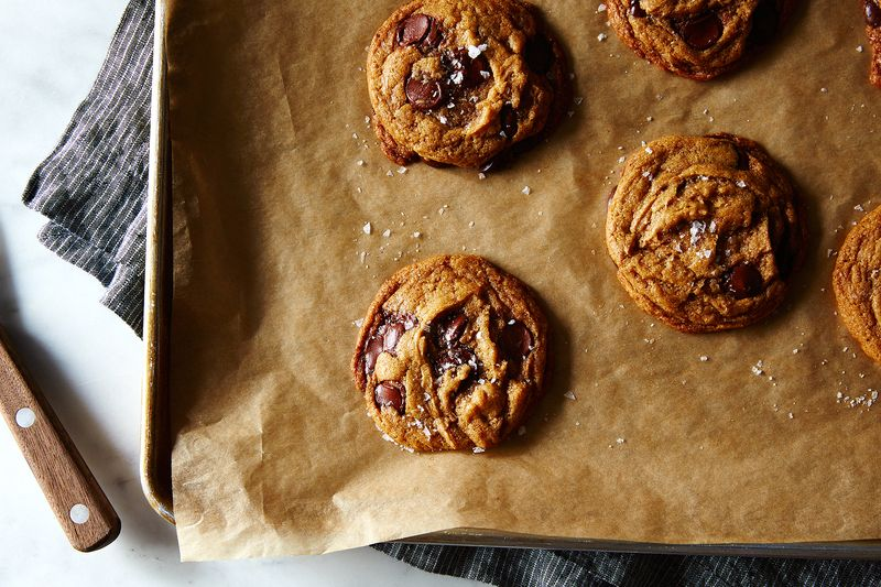 Ovenly's Secretly Vegan Salted Chocolate Chip Cookies
