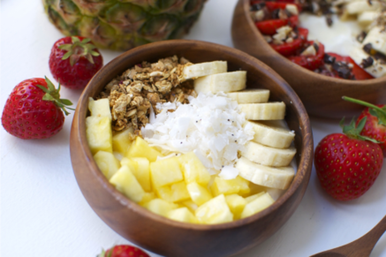 Tropical Dessert Bowl