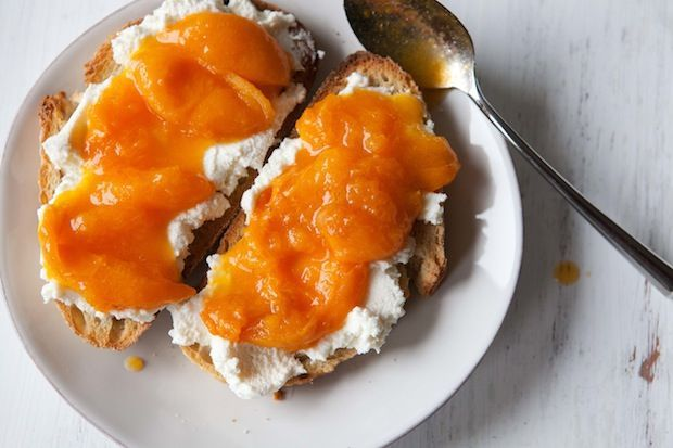 Apricot and Ricotta Tartines on Food52
