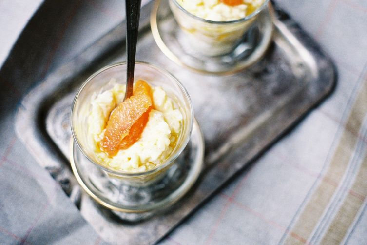 Rice Pudding with Old Fashioned Oranges