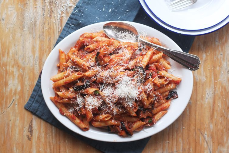 Pasta alla Norma (Eggplant and Tomato Pasta)
