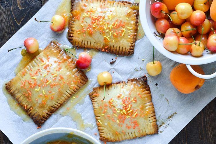 Cherry Apricot Hand Tarts