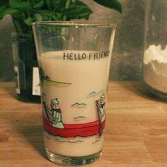 Ginger Milk (for the acidic tummy)