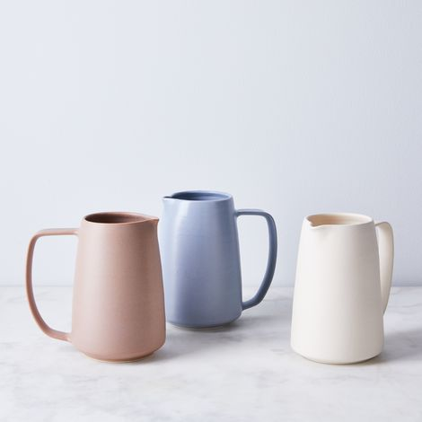 Handmade Porcelain Silhouette Pitcher