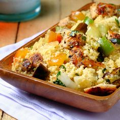 Mediterranean Chicken and Couscous Salad