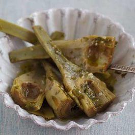 Artichokes With Parsley, Garlic and Mint (carciofi alla romana) - Lazio, Contorn