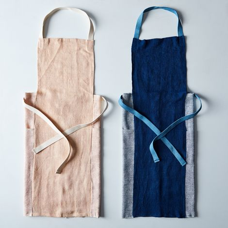 Handwoven Stripes Apron