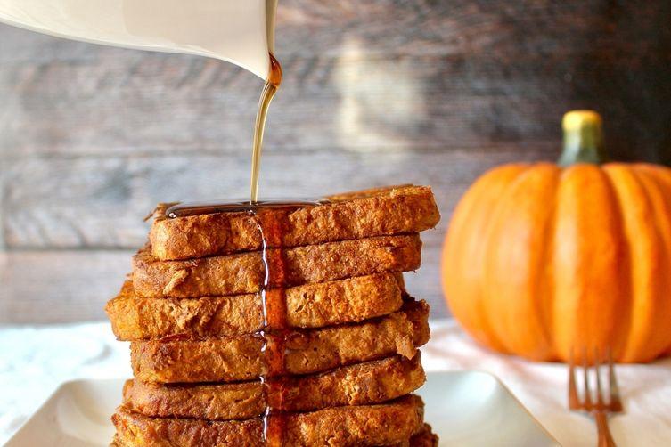Gluten Free Pumpkin French Toast