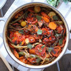 Mixed Mediterranean Vegetable Bake