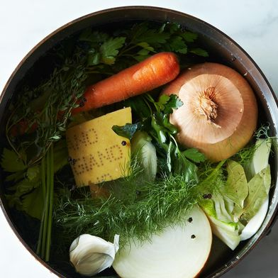 How to Make Vegetable Stock Without a Recipe
