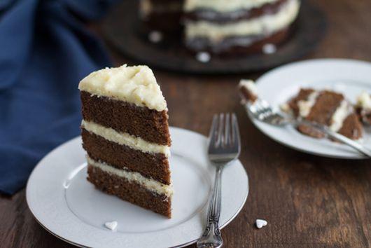 Chocolate Lemon Naked Cake