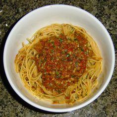 Pesto-y Tomato Sauce